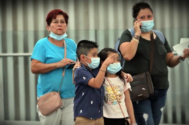 Contrajeron covid 31 mil menores en México solo en Julio