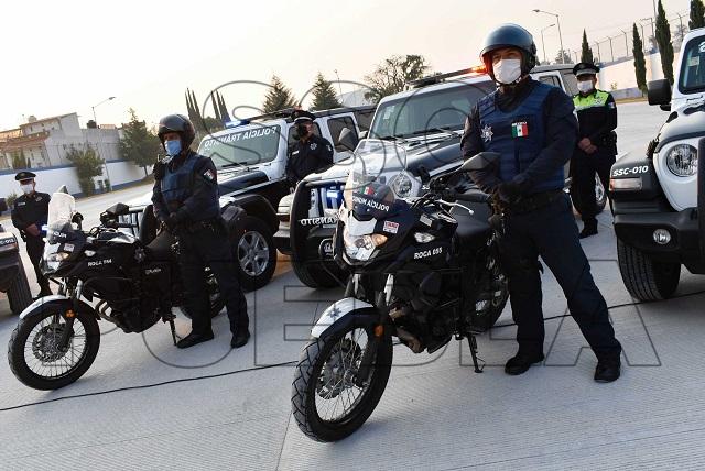 En 1 semana, policía municipal de Puebla hizo más de 100 detenciones