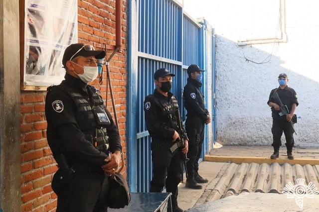 Suspenden toda visita a penales de Puebla por fase 3 de Covid