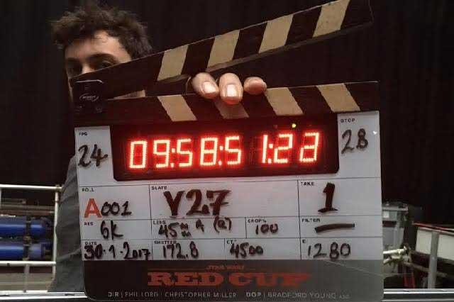 Chris Miller inicia rodaje basado en el personaje Han Solo de Star Wars