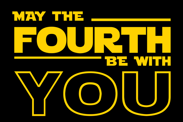 "Día de Star Wars: ¿Qué significa ""May the fourth be with you""?"