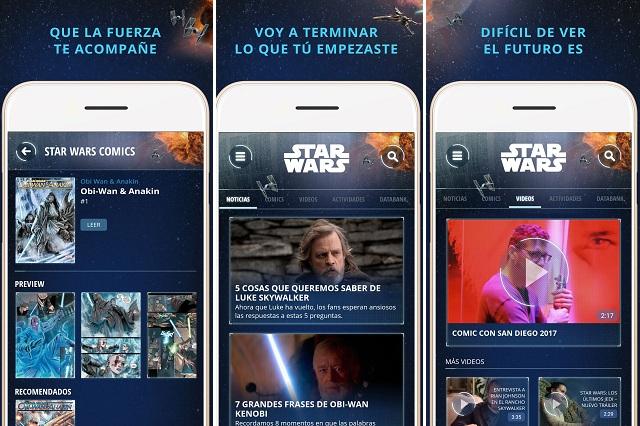 Con contenido exclusivo... ¡Disney lanza aplicación de 'Star Wars'!