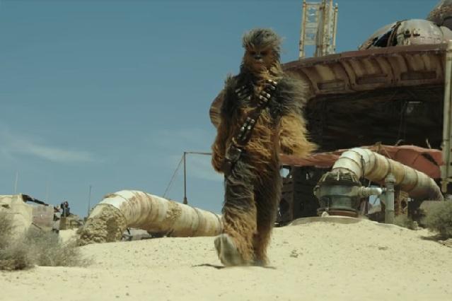 Con rugido de Chewbacca buscan recaudar un millón de dólares para Unicef