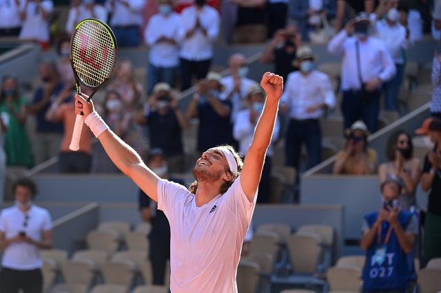 Stéfanos Tsitsipás llega a final en Roland Garros, la primera de su carrera