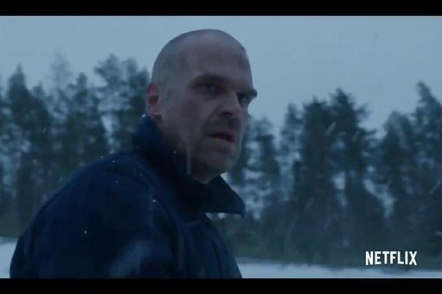 Video: Trailer de Stranger Things 4 revela que Hoper está vivo