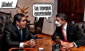 ¿Es Eduardo Rivera el candidato del gobernador al 2024?