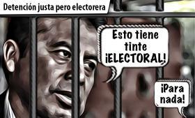 Leo Paisano: detención justa pero electorera