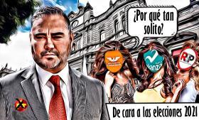 Adelantos de cara a las nominaciones a la alcaldía de Puebla