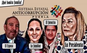 La 4T quiere llenar de parientes el Sistema Estatal Anticorrupción