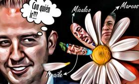 Marko Cortés y la reelección de Genoveva Huerta