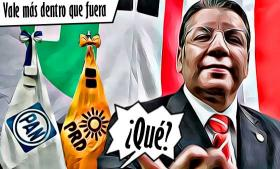 Enrique Doger vale más dentro que fuera del PRI