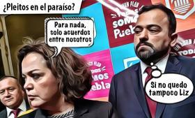 El supuesto pleito en la burbuja de Claudia Rivera