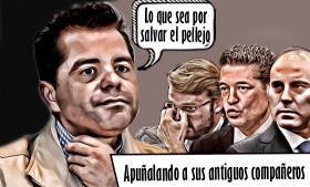 García Almaguer, el Judas que en aras de salvar su pellejo traiciona a sus antiguos aliados