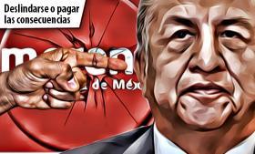 Saúl Huerta: Si Morena no se deslinda de él, sus candidatos pagarán las consecuencias