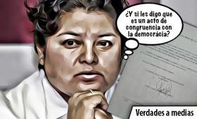 Karina Pérez Popoca: medias verdades