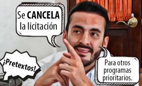 Se cancela licitación de estufas de leña, tras exhibida al gobierno de Barbosa