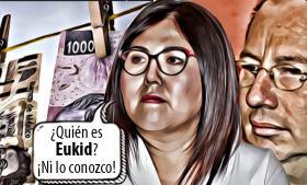 Genoveva Huerta recibió dinero en efectivo de Eukid Castañón