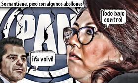 Genoveva Huerta mantiene el control del Consejo Estatal del PAN, pero con abollones