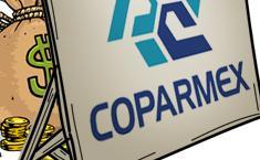 Coparmex: no da mordida, pero sí las recibe