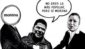 Claudia Rivera, premio de consolación a la militancia morenista