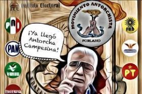 Antorcha Campesina será partido estatal, gracias a Podemos Puebla