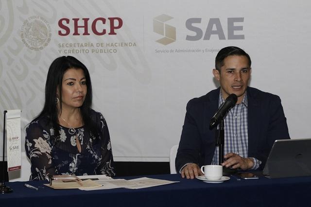 Gobierno federal realizará subasta de inmuebles en Puebla