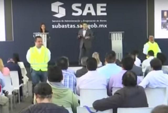 El SAE sólo obtuvo 10.3 mdp en subasta de joyas en Los Pinos