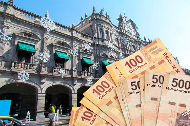 Sin gastar 1,300 mdp en Puebla capital a 20 días de cerrar el año