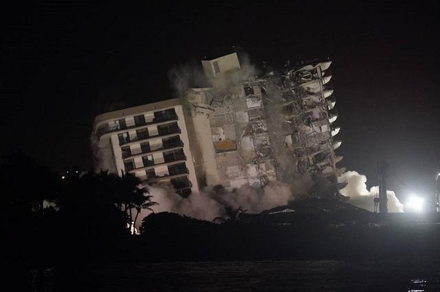 Suben a 32 los muertos por derrumbe en Miami