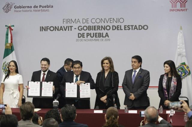 Subsidiará gobierno casas para familias pobres: Barbosa