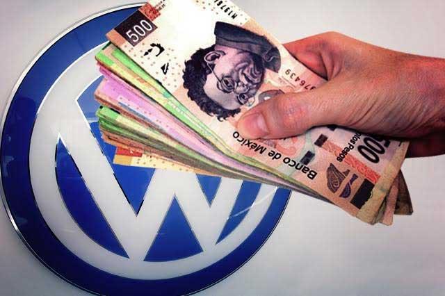 Con cargo al erario subsidian a VW con 798 mdp en sólo 3 años