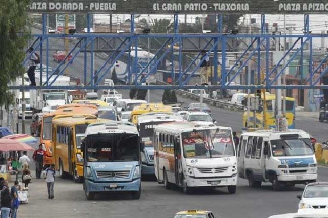 Aumentan en Puebla 2.5 pesos a rutas suburbanas y foráneas