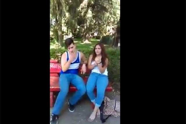 Suegro atrapa a su yerno infiel con la amante y video se vuelve viral