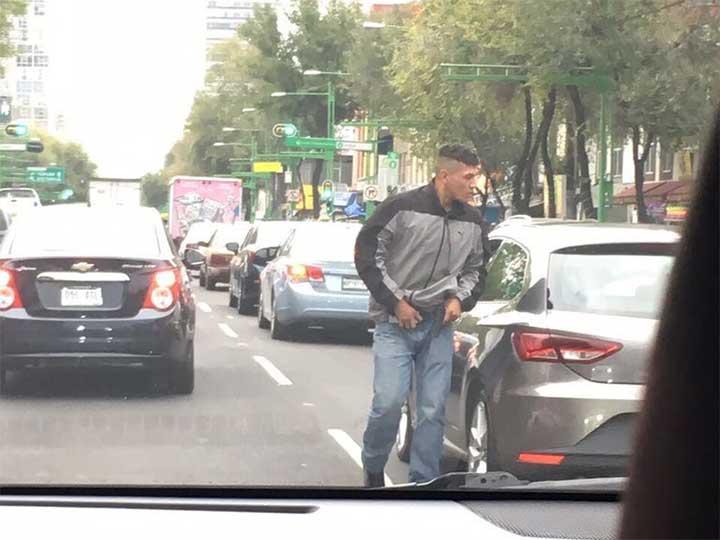 PGJ-CDMX investiga asalto a automovilista en Eje Central