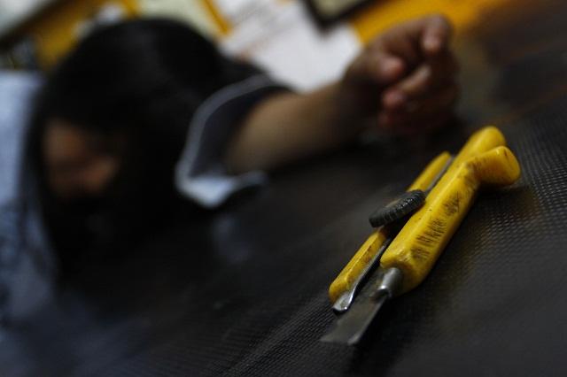 Menor usa una venda para suicidarse en Tecamachalco