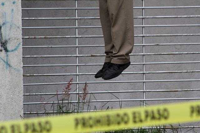 Depresión lleva a la muerte a hombre en Puebla capital