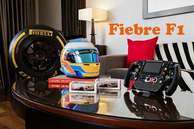 Suite de la fiebre del Gran Premio CDMX