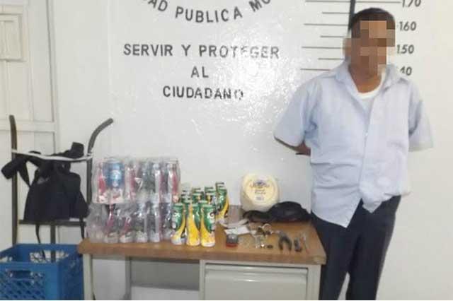 Detienen a sujeto acusado de robo a repartidor de Lala