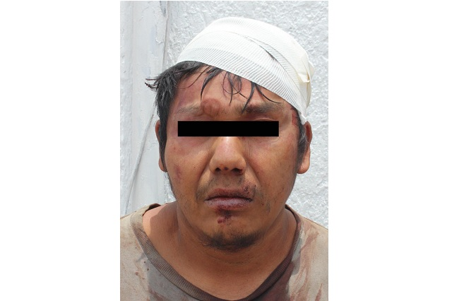 Detienen a sujeto por robo a clientes de Herbalife en Puebla