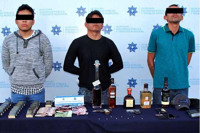 Desarticula Policía Municipal de Puebla banda de robo a negocio