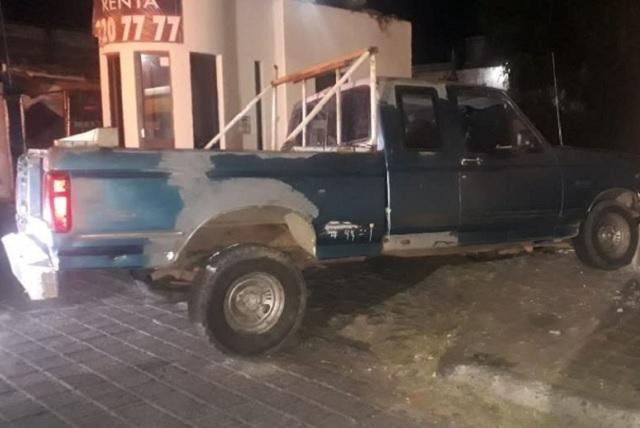 La SSPTM de San Andrés Cholula detiene a 4 sujetos por el delito de robo