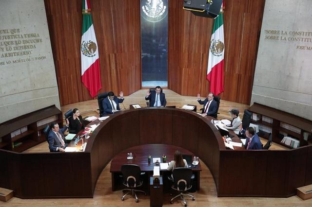 TEPJF confirma veto al Tribunal local para la elección de Puebla