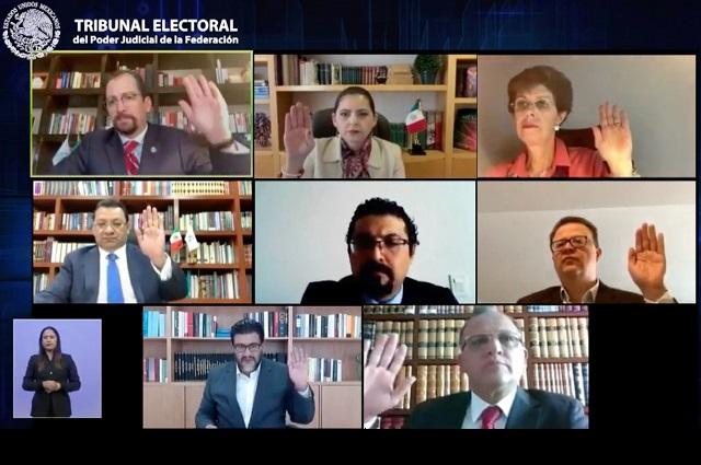 Impugnan elección de magistratura en TEEP y destape de Saravia