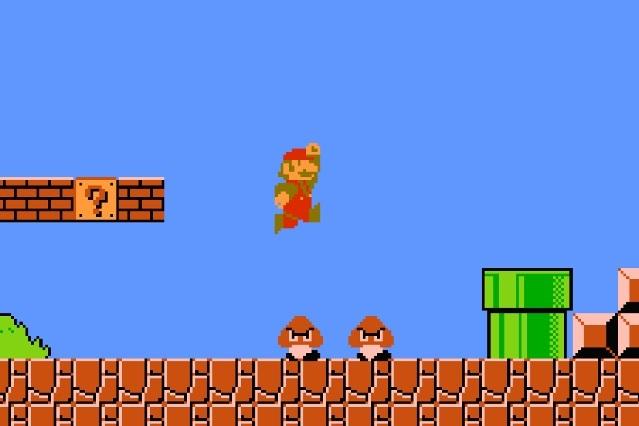 Chico termina Super Mario Bros en menos de 5 minutos con una mano