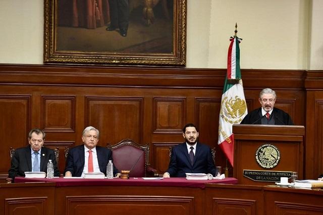 Ministros de la Suprema Corte aceptan bajarse el salario 25%