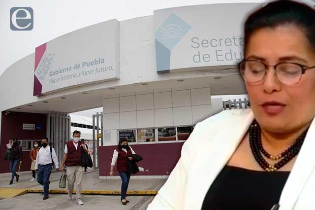 Cesan a madre de diputada Nora Escamilla en Dirección de SEP