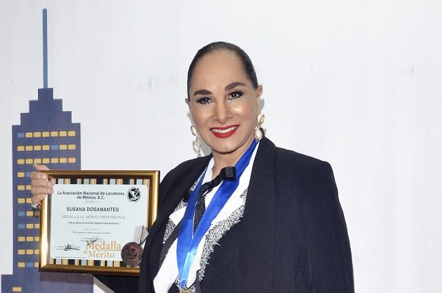 Susana Dosamantes pide a la prensa que no se deje chamaquear
