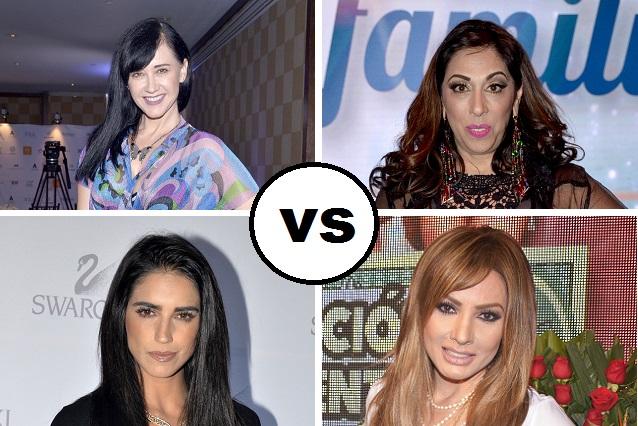 Susana Zabaleta y Regina Orozco vs Paty Navidad y Bárbara de Regil