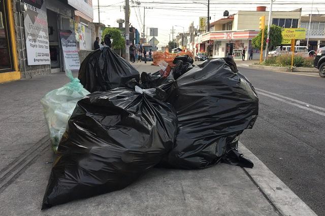Aclaran inquietudes del cobro por servicios de limpia en Atlixco