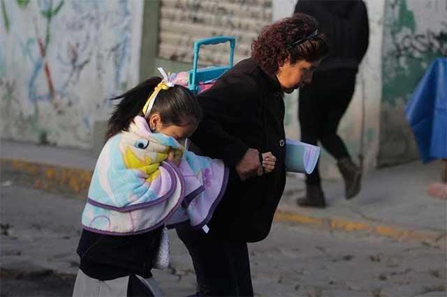 Suspende SEP clases en más de 2 mil escuelas de Puebla por frío